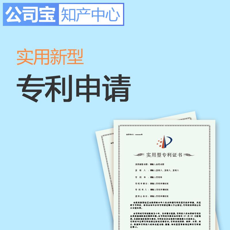 公司宝知产中心 大陆地区 实用新型专利申请 技术方案/产品形状构造专利申请
