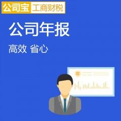 公司年报 工商企业年审 内资公司年报企业年度必备 1-6月办理 公司宝工商财税 北京