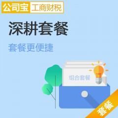 北京深耕套餐 内资公司注册+注册地址+国税地税报到+小规模代理记账+税控申请 公司宝工商财税